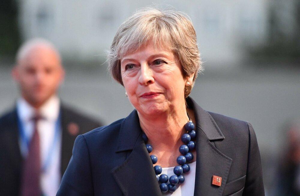 Briti peaminister May pöördus Brexiti-kokkuleppe saavutamiseks EL-i juhtide poole