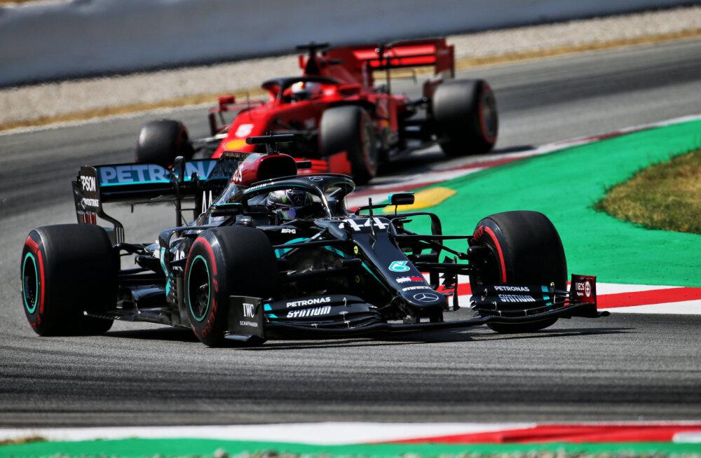Mercedesed domineerisid Hispaania GP kvalifikatsiooni, Verstappen kolmas