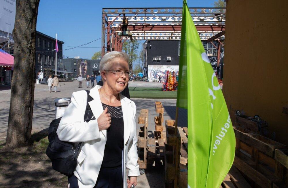 Eesti rohelistest oli kõige edukam Evelin Ilves, kelle häältesaak (3084) ületas pisut ka Eesti 200 esinumbriks olnud Lauri Hussari saadud hääli (3078).