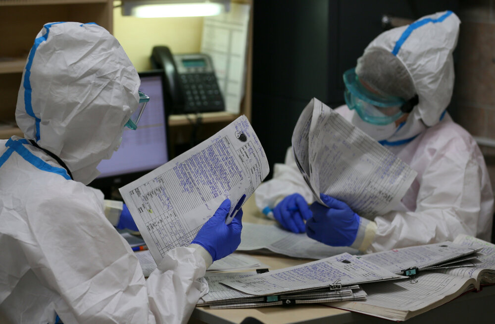 Venemaal lisandus rekordarv koroonaviirusega nakatumisi