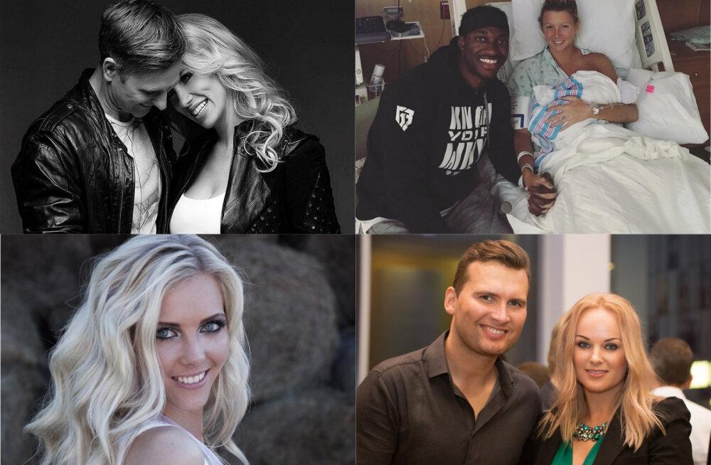 TOP 30: Eesti kuulsuste beebibuum ja uhked pulmad: vaata, kes said tänavu perelisa ja kes sõudsid abieluranda
