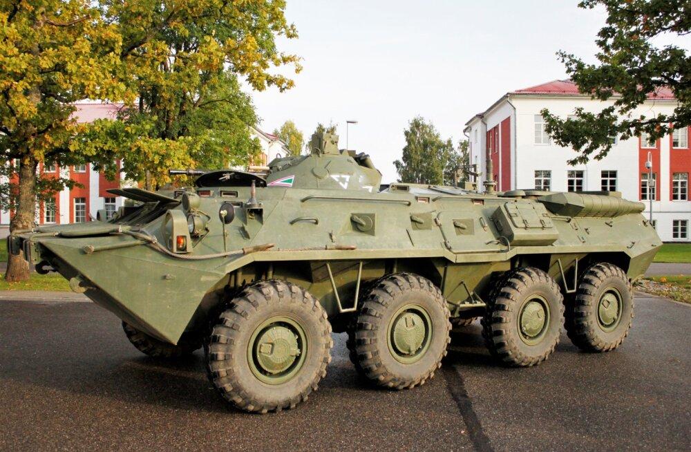 Ajakirjast Sõdur: Vene sugemetega soomukid sõitsid taas Eesti pinnal