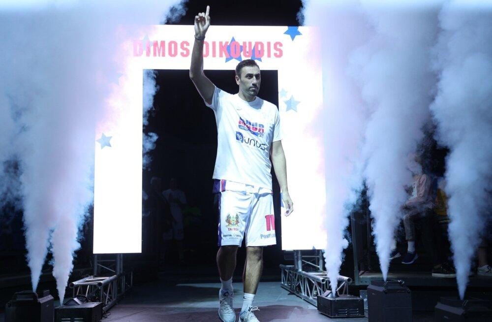 Kreeka korvpalliäss Müürsepast: ennenägematu mängija, aga ka lõbus peoloom