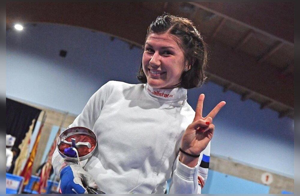 Julia Beljajeval on jälle põhjust rõõmustada.