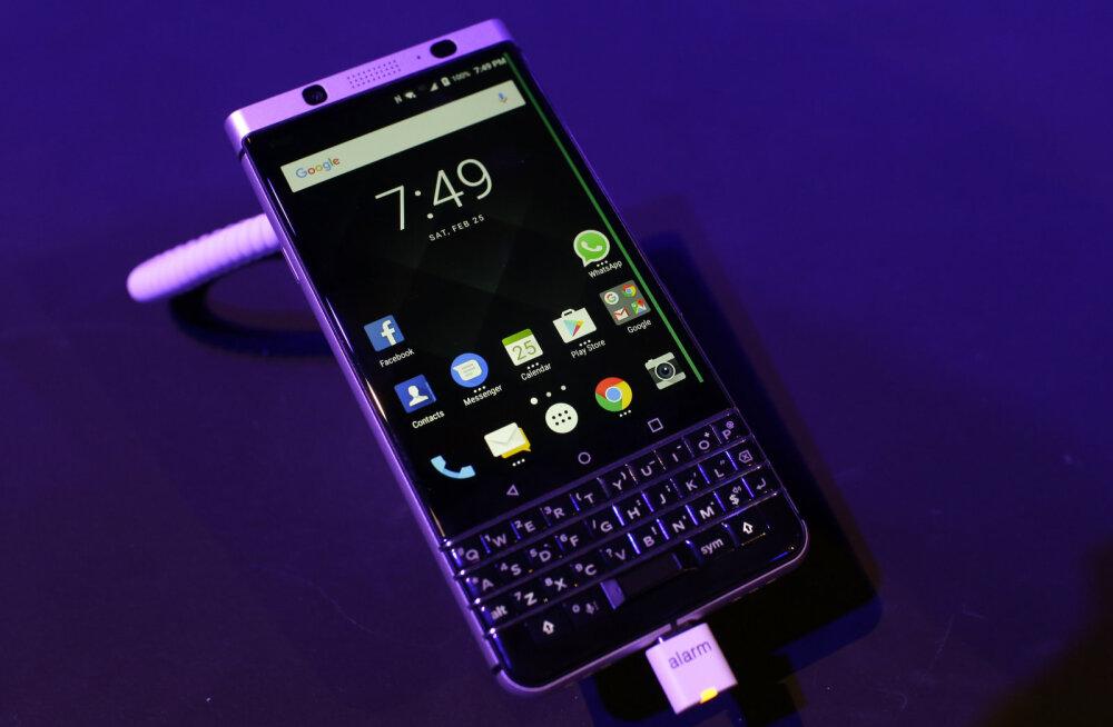 На радость бизнесменам: в Эстонии впоявились смартфоны с клавиатурой Blackberry