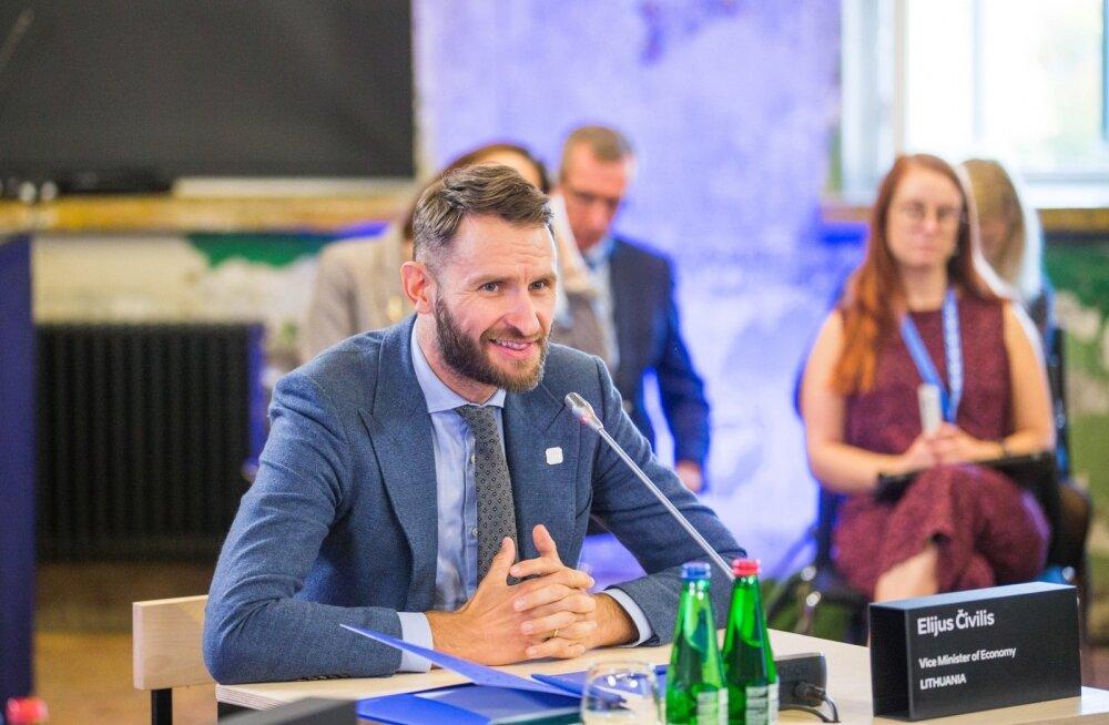 Leedu asemajandusminister Elijus Civilis.