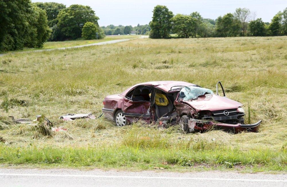 Hukkunuga liiklusõnnetus Saaremaal