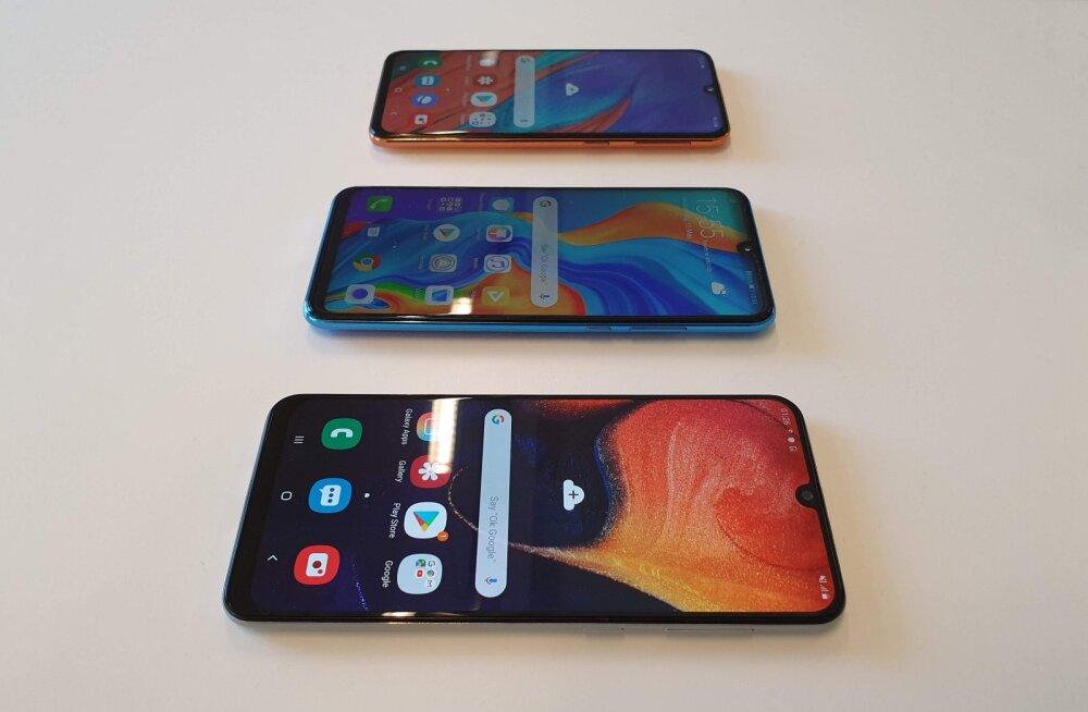 FORTE TEST | Kas uue odavtelefoni valimisel tasuks vaadata Huawei või Samsungi poole?