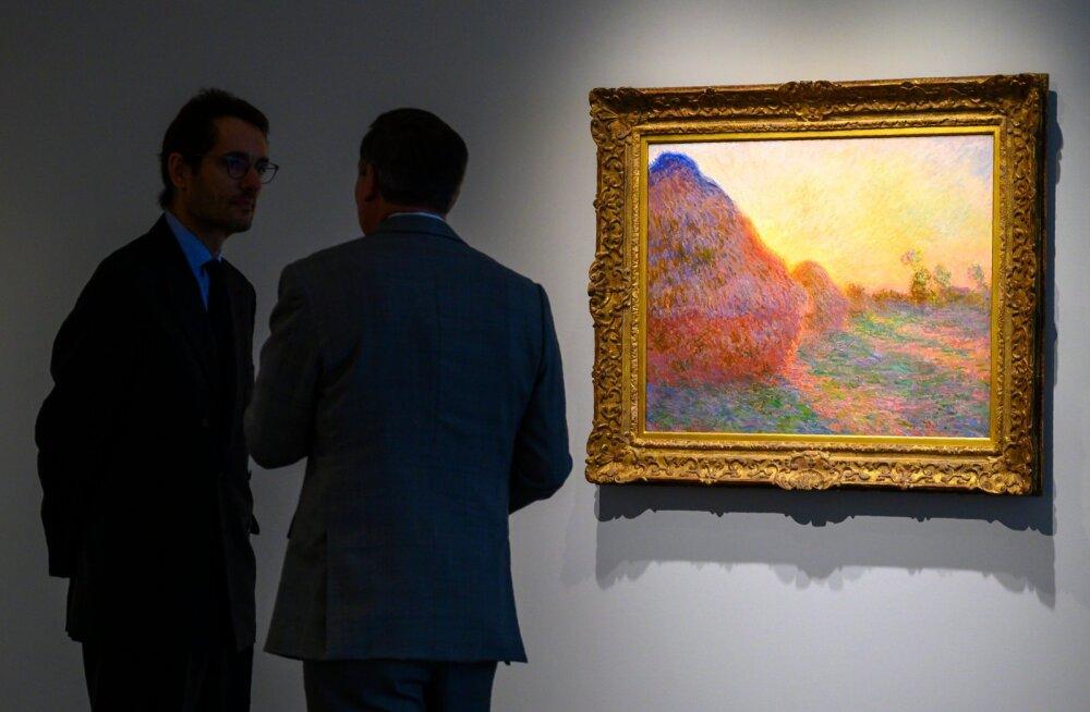 Oksjonil 111 miljoni dollari eest müüdud Claude Monet maal