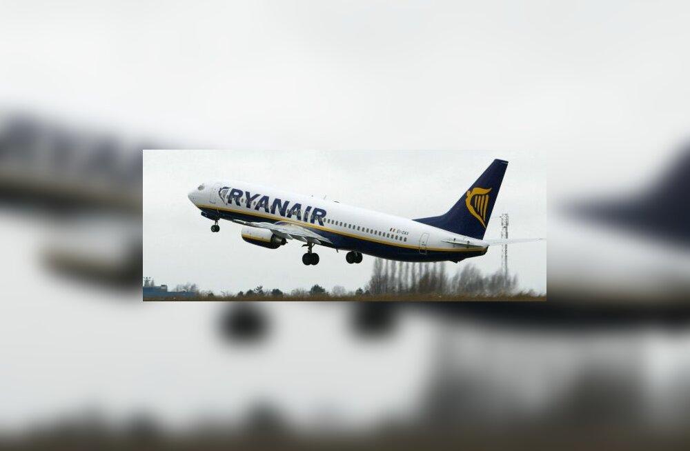 Ryanair otsustas lennukite tualetid tasuliseks muuta