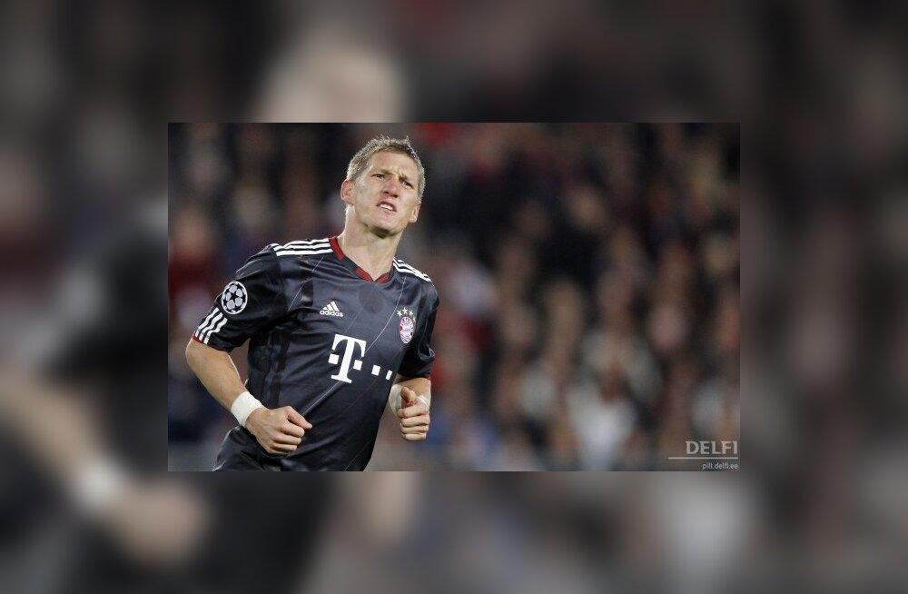 VIDEO: Schweinsteigeri tabamused päästsid Bayerni