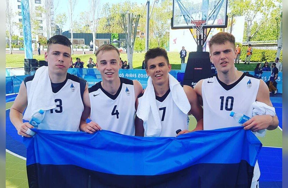 3x3 koondis alistas noorte olümpiamängudel Mongoolia, kuid jäi Argentinale napilt alla