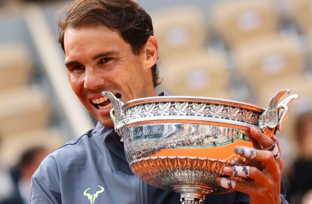Nadal valmistas ajakirjanikele pettumuse: Federeri rekord ei huvita mind üldse