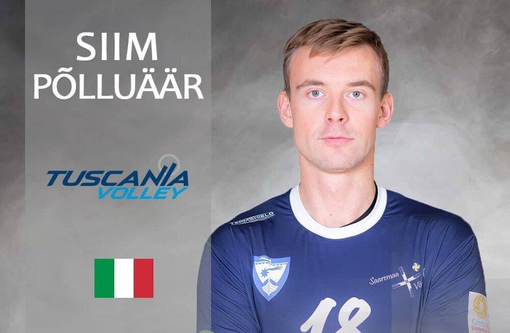Eesti võrkpallur Siim Põlluäär liitus Itaalia klubiga