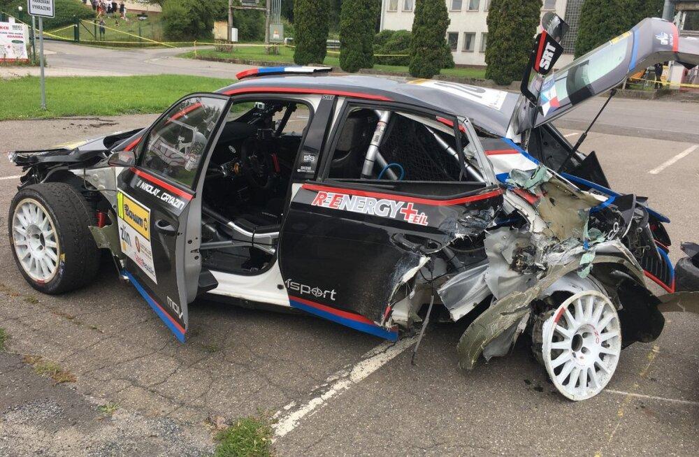 VIDEO | Venemaa ralliässa sõidu ERC-etapil lõpetas taaskord karm avarii