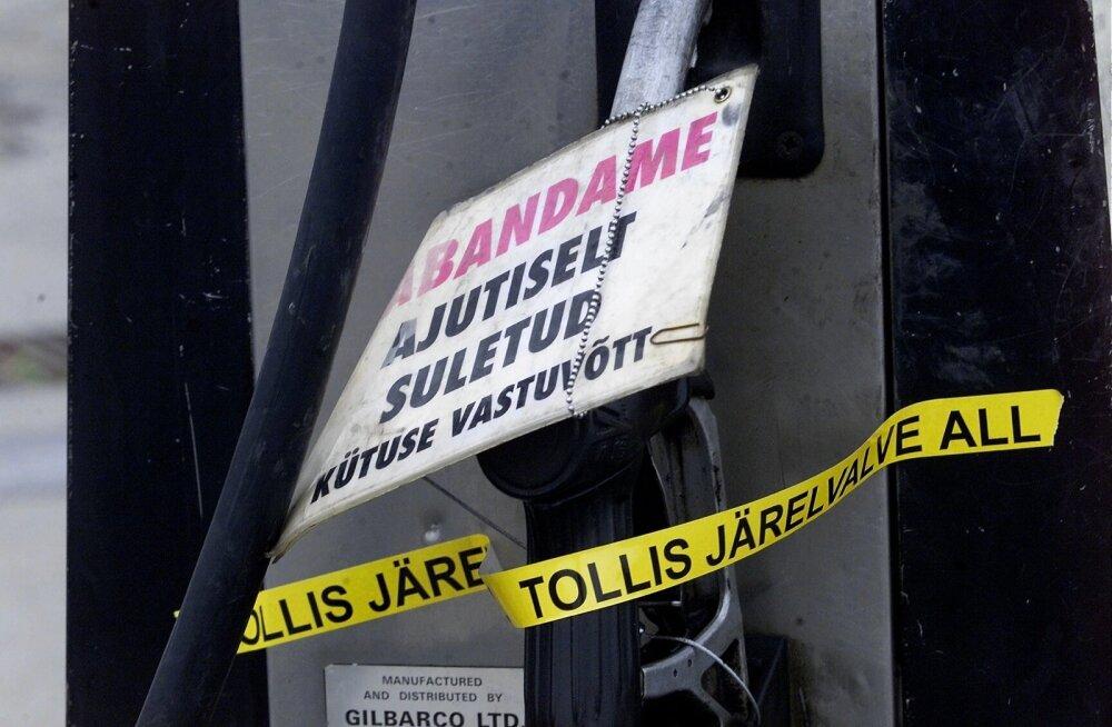Eesti Päevalehe arhiivist. Kütusemaailma hall äri röövib riigilt sadu miljoneid