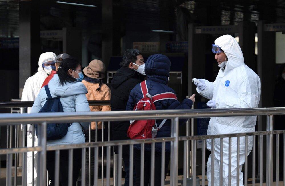 Hiina viiruse tõttu surnute arv on tõusnud 26-ni, Hubei provintsis on suletud 10 linna