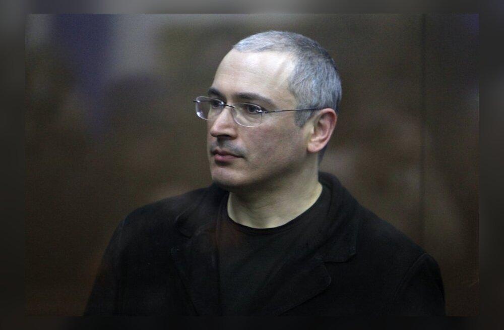 Hodorkovski pälvis Lech Wałęsa auhinna