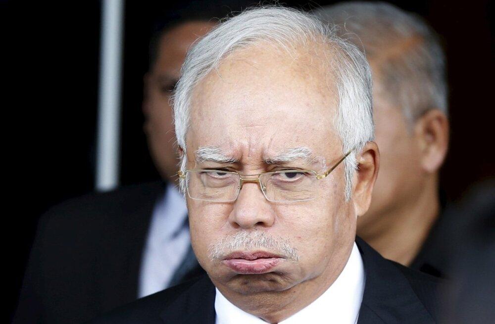Saudi Araabia kuninglik perekond annetas isiklikult Malaisia peaministrile 681 miljonit dollarit