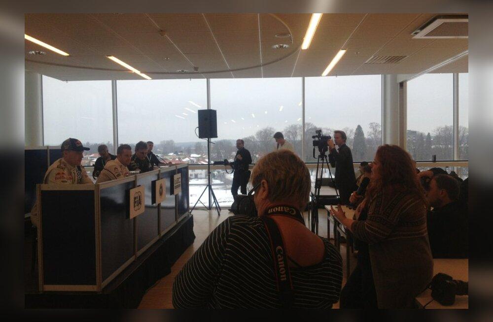 Rootsi ralli pressikonverents