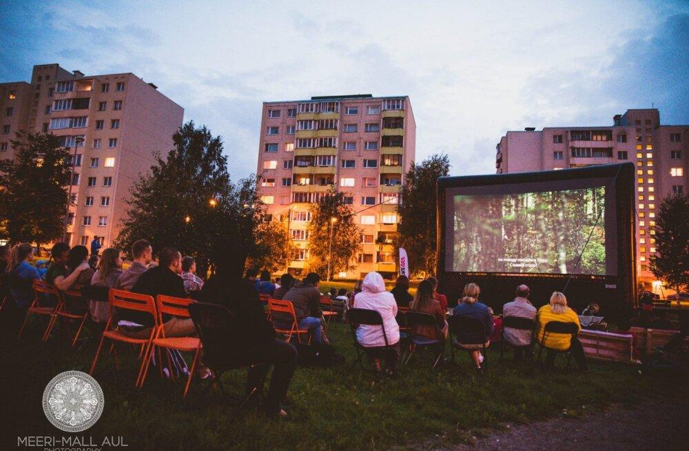 ЛаснаКино! В Ласнамяэ пройдет бесплатный кинопоказ под открытым небом