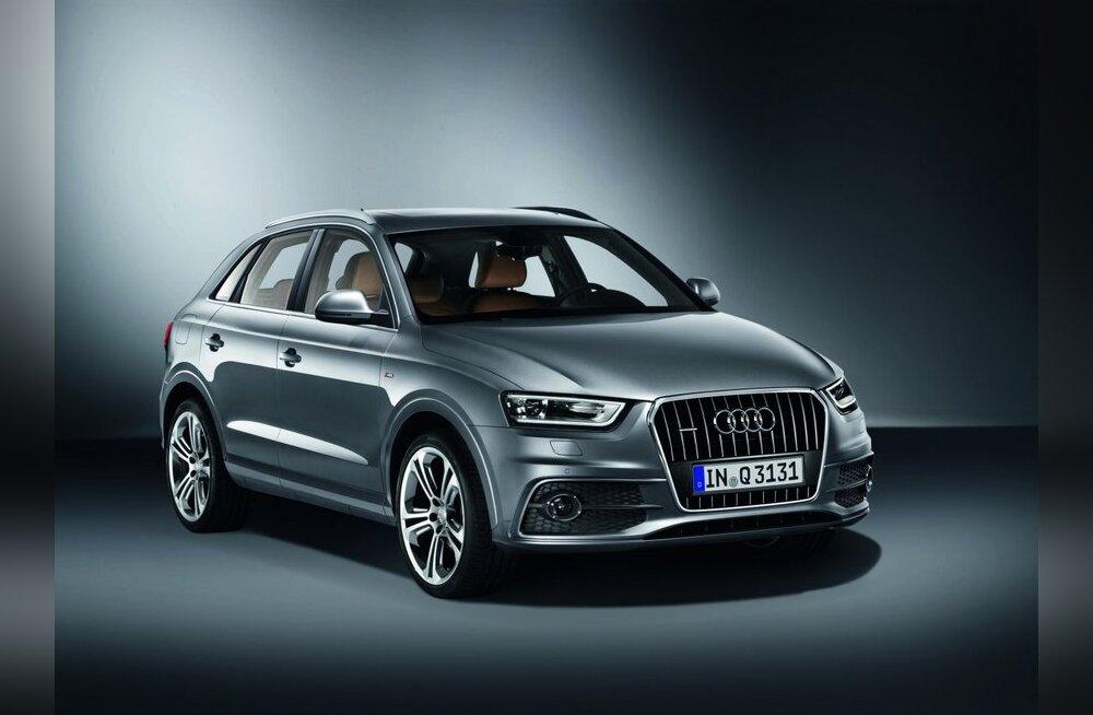 Verivärske Audi Q3