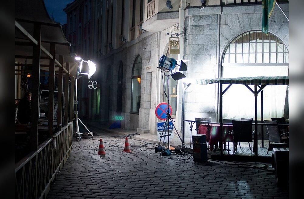 """""""Rotilõksu"""" filmivõtted panevad tänavad kinni"""