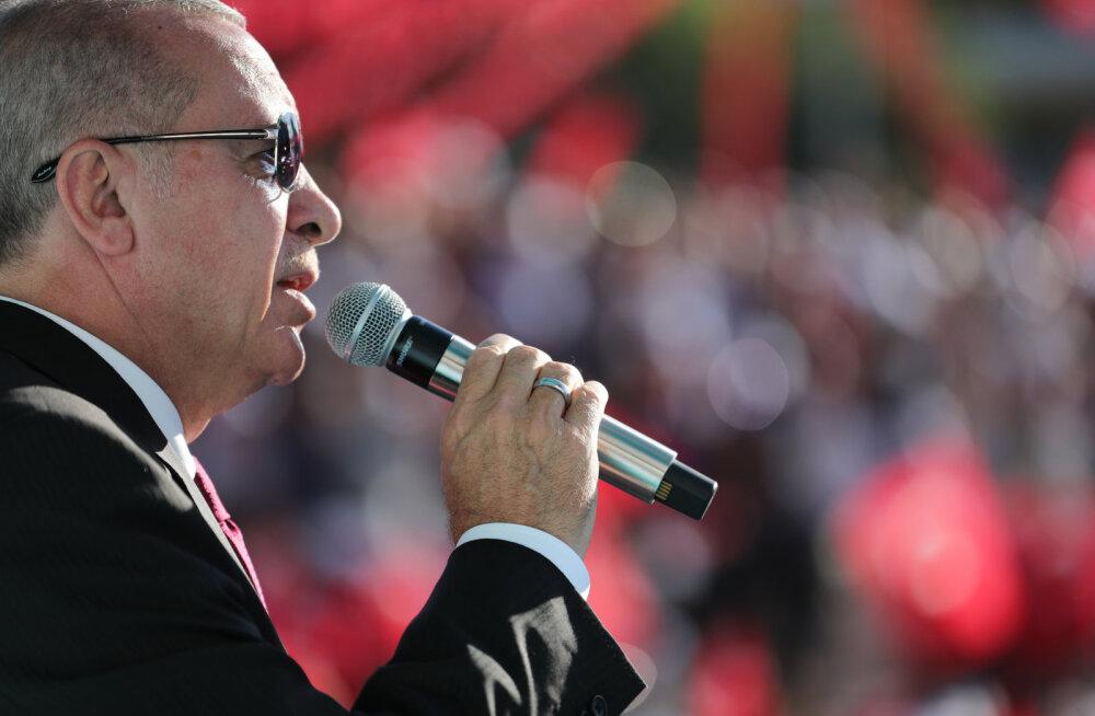 Türgi president teatas peatsest sissetungist Süüria kirdeossa