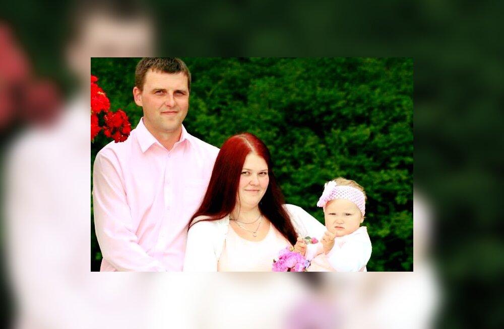 Elu on habras! Aitame koos ja kingime 36-aastasele pereisa Erkole võimaluse olla koos naise ja tütrega