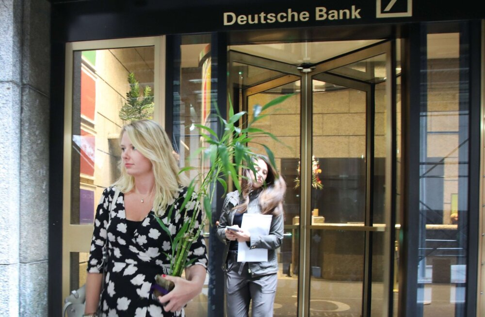 Kas suurkoondamine päästab Deutsche Banki? Investorid kahtlevad ja aktsia langeb