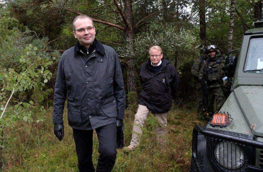 Soome kaitseminister Niinistö: GPS-i segamise juhtumi juures on rahvusliku julgeolekuga seotud vaatekohti