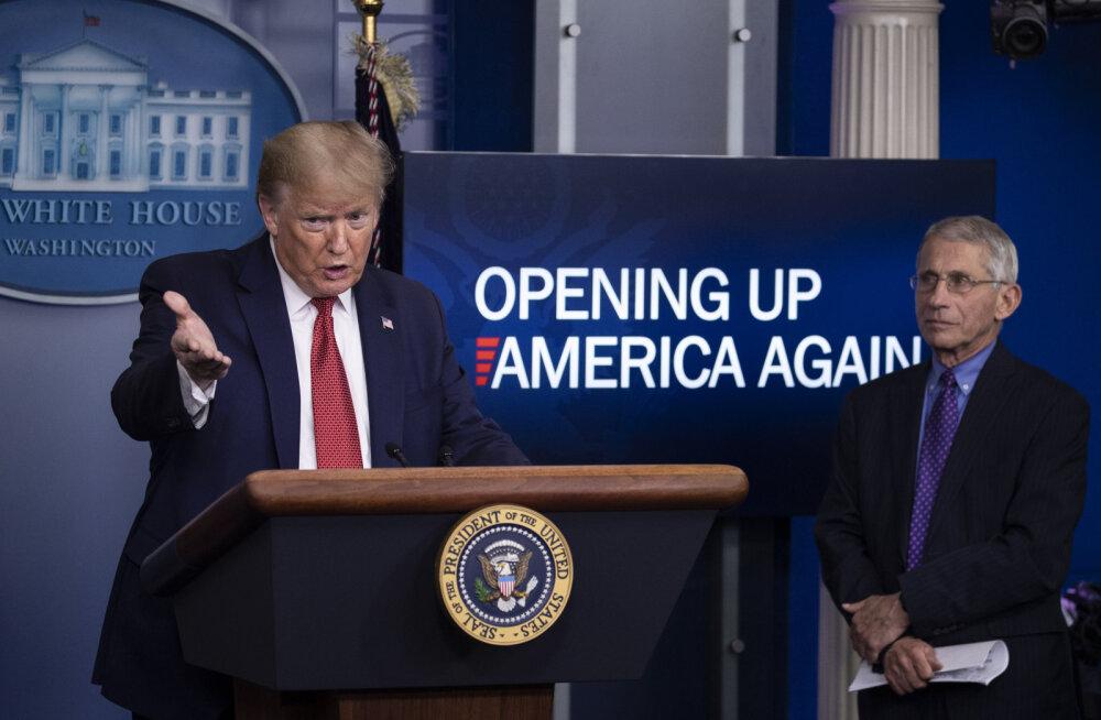 Trump avaldas plaani USA osariikide taasavamiseks kolmes faasis