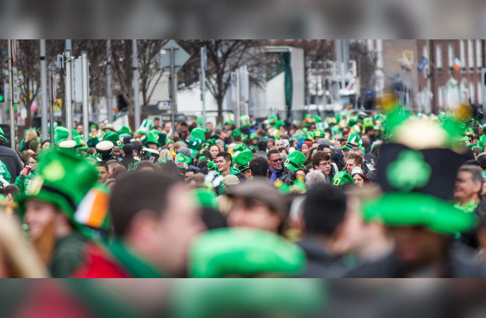 """День Святого Патрика: смех, веселье и """"зеленый"""" парад"""