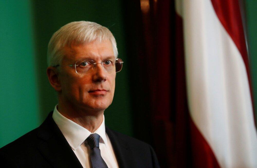 Kolmas katse: Läti president usaldas valitsuse moodustamise Krišjānis Kariņšile