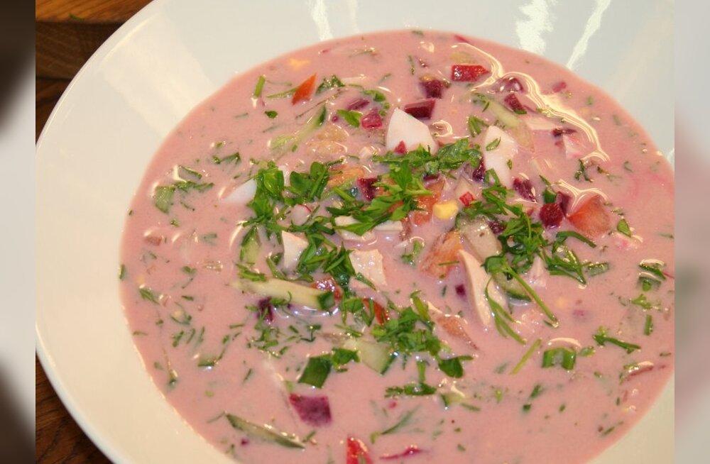 """""""Head Isu"""" pakub suviselt külma suppi ja lillkapsasalatit"""