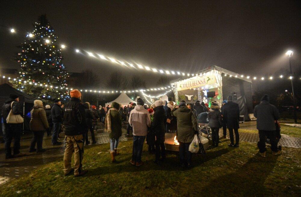 Jõuluhansa Viljandis
