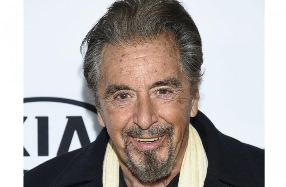 Vahi värki! 78-aastane filmistaar Al Pacino käib kohtamas endast poole noorema näitlejannaga
