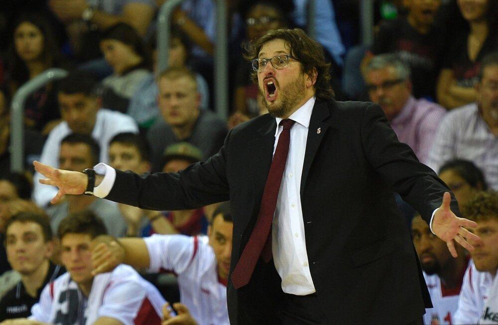 Bamberg Brose Basketsi peatreener Andrea Trinchieri