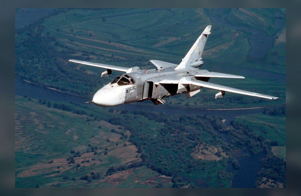 NATO hävitajad saatsid Läti piiri lähistel Vene luurelennukit