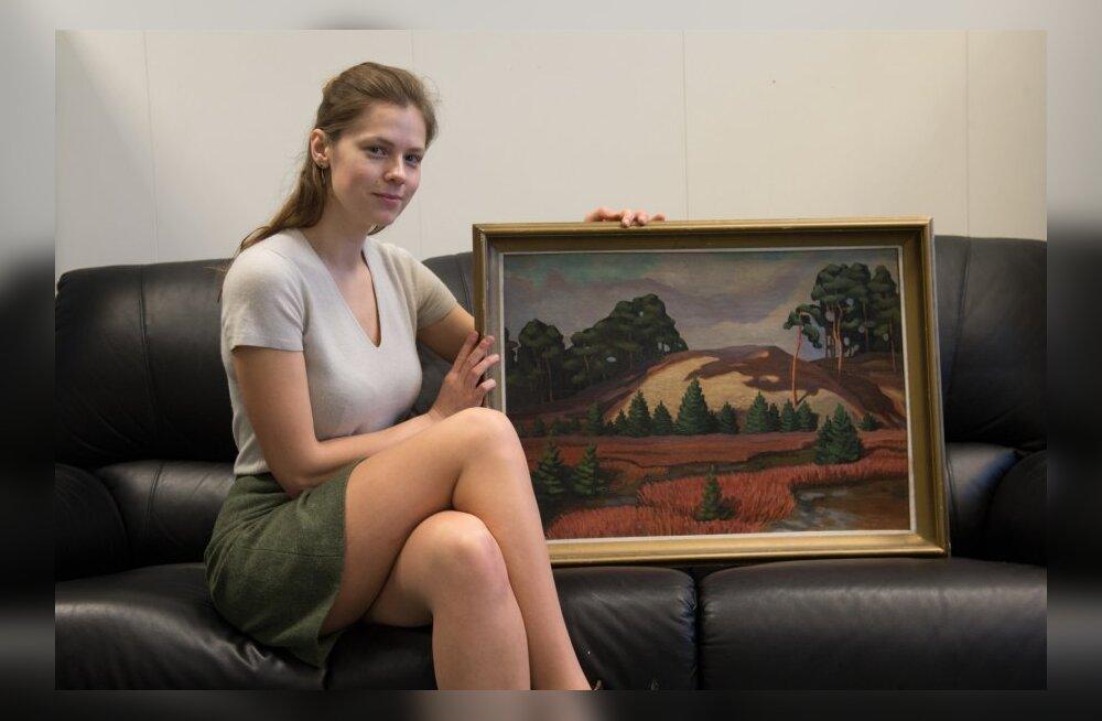 Katrin Lust ja maalid