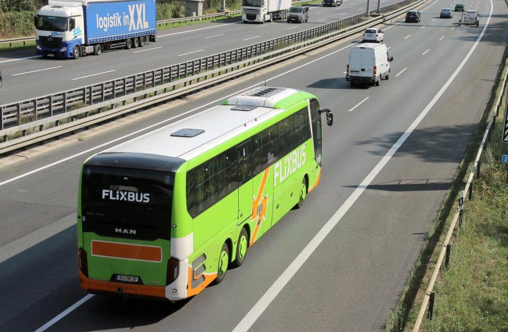 На рынок Эстонии выходит крупный автобусный перевозчик FlixBus. Новые маршруты свяжут Таллинн с городами Германии, Польши и Чехии