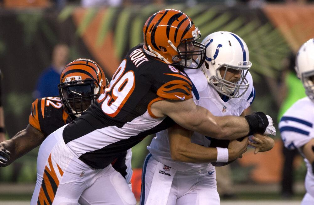 Tagasi NFL-is: Margus Hunt sõlmis lepingu endise koduklubiga