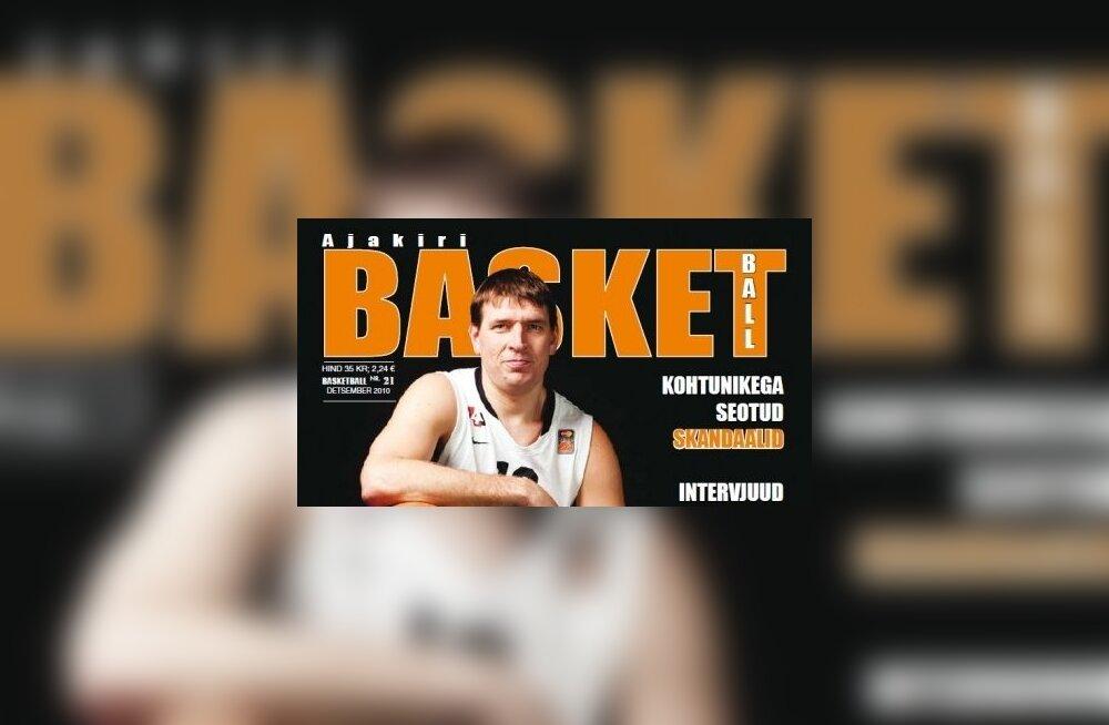 Ajakirja Basketball detsembri esikaas