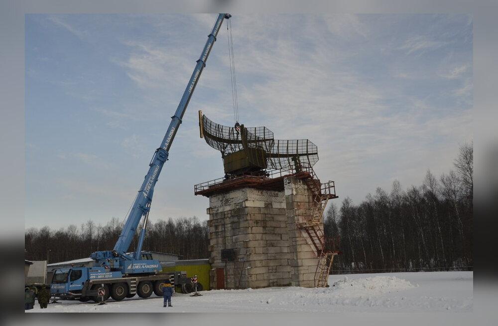 Vaata pilte: Õhuväe vanim radaripost lammutati