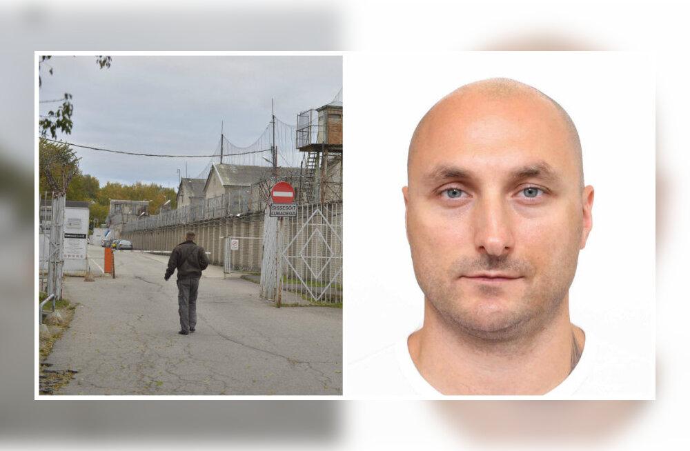 Tallinna vanglast põgenenud mees tabati viimaks Peterburis