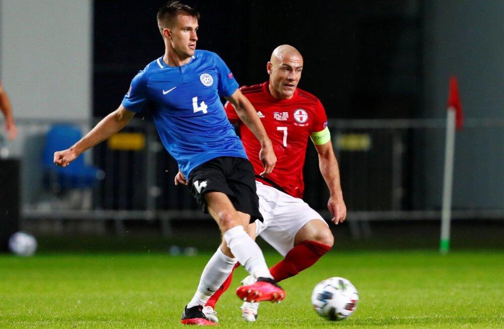 Mattias Käit tegi sügisel Eesti koondises korralikud esitused.