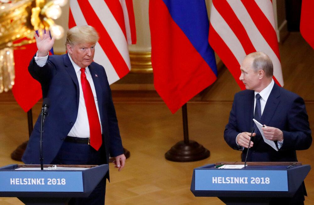 Trump soovivat Putiniga rääkida, ent Kreml ei tea, millal