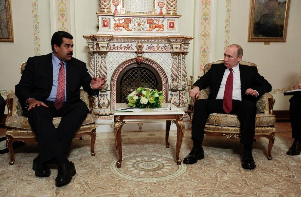 Vladimir Putin ja Nicolas Maduro