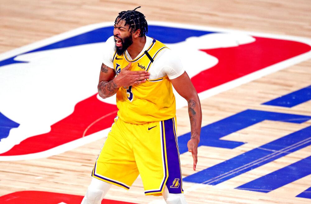 VIDEO   Tugeva lõpu teinud Lakers jõudis NBA meistritiitlist ühe võidu kaugusele