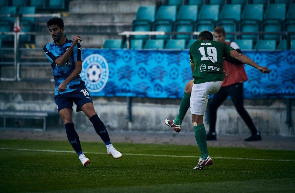FC Flora mängija Gert Kams